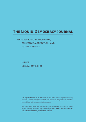The Liquid Democracy Journal on electronic participation