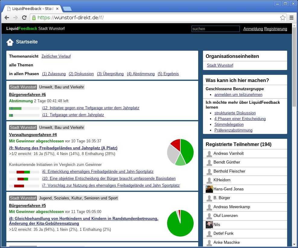 Democratic File Revision Control with LiquidFeedback (The